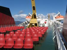 Free Ferry Deck Royalty Free Stock Photography - 1016447