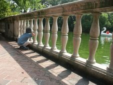 Free On The Bridge Stock Photos - 1016673