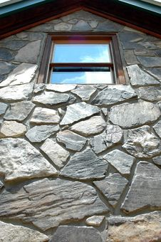 Free Stone Window Royalty Free Stock Photo - 1017745