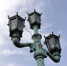 Free Lamppost Royalty Free Stock Photo - 1018265