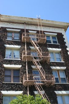 Free Fire Escape Stock Images - 1018804