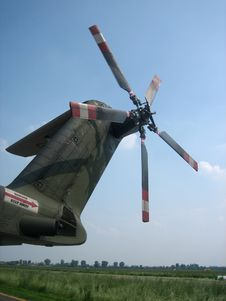 Free Military Helicopter Stock Photography - 1019202