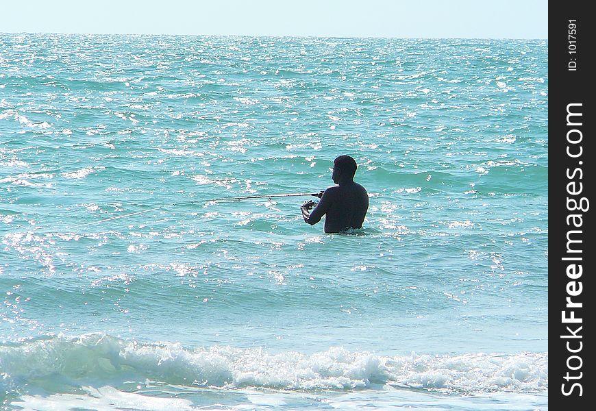 Fishing Solitare