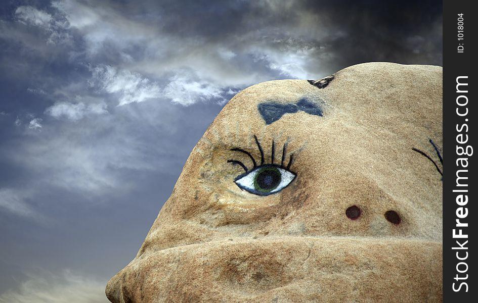 One eyed rock