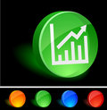 Free Graph Icon Royalty Free Stock Photography - 10102797
