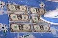 Free Ironing Dollars Royalty Free Stock Photo - 10103235