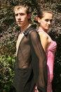 Free Flirting Couple Stock Photography - 10107462