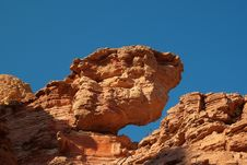 Free Eroded Rocks In Red Canyon. Stock Photo - 10101020