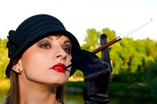 Free Retro Style Woman Stock Photo - 10101460