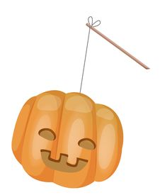 Free Halloween Pumpkin Stock Image - 10103141