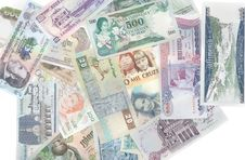 Free Money Different Countries Royalty Free Stock Photography - 10104547