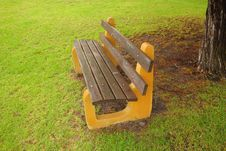 Free A Chair In The Park Royalty Free Stock Photos - 10104908