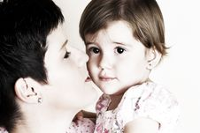 Free Mom And Daughter Stock Photo - 10105210
