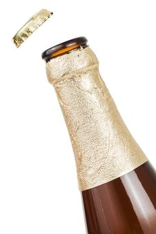 Free Beer Bottle Royalty Free Stock Photos - 10105518