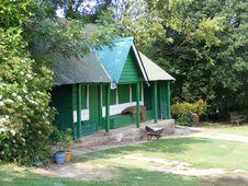 Free Old Cricket Pavillion Stock Image - 10105721