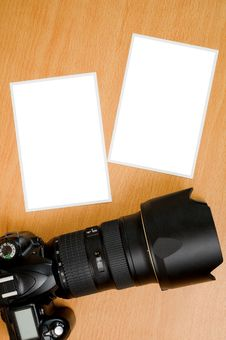 Free SLR Camera Royalty Free Stock Photo - 10105865