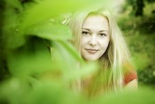 Blonde Beauty Royalty Free Stock Image