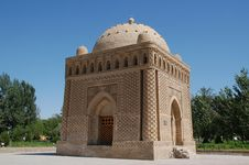 Free Buchara Samani Mausoleum Royalty Free Stock Photo - 10106895