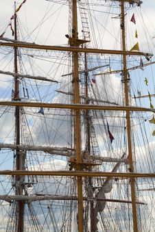 Free Tall Masts Stock Image - 10107291