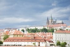 Free Prague Under Cloudscape Stock Photography - 10107482