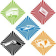Free Various Pattern Set Stock Image - 10108851