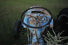 Free Old Tractor Stock Photography - 10109132