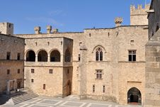 Free Palace Of The Knights Royalty Free Stock Photos - 10109988