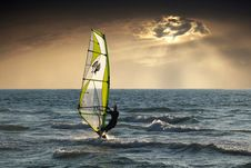 Free Windsurfing, Surfing Equipment And Supplies, Wave, Sail Stock Photos - 101009753