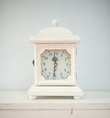 Free Clock, Home Accessories, Alarm Clock, Product Design Stock Photo - 101009840