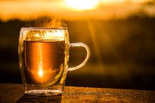 Free Drink, Pint Us, Coffee Cup, Beer Glass Royalty Free Stock Photography - 101010367