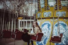 Free Amusement Ride, Snapshot, Carousel, Amusement Park Royalty Free Stock Image - 101016136