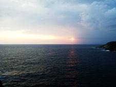 Free Sea, Horizon, Sky, Ocean Royalty Free Stock Photos - 101025788