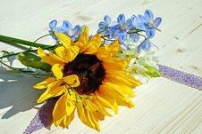 Free Flower, Sunflower, Yellow, Flower Bouquet Royalty Free Stock Image - 101026426