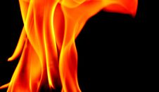 Free Flame, Orange, Yellow, Fire Royalty Free Stock Photo - 101030125