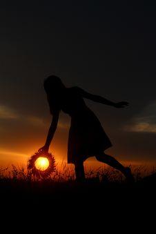 Free Sky, Silhouette, Sunrise, Sunset Royalty Free Stock Photos - 101031768