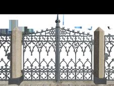 Free Iron, Gate, Structure, Home Fencing Royalty Free Stock Photo - 101081765