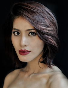 Free Beauty, Human Hair Color, Eyebrow, Lip Stock Photo - 101083120