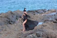 Free Sea, Beach, Rock, Vacation Stock Photo - 101086010