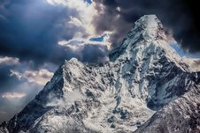 Free Sky, Mountainous Landforms, Cloud, Mountain Royalty Free Stock Image - 101086506