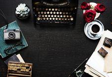 Free Typewriter, Font, Brand Stock Image - 101098031