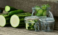 Free Vegetable, Pickling, Food Preservation, Cucumber Royalty Free Stock Images - 101098489