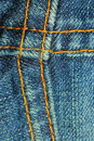 Free Blue Jean Seams Stock Photo - 10111070