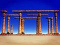 Free Desert Ruins Stock Images - 10111154