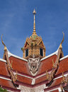 Free Top Part Of Thai Style Architecture Royalty Free Stock Photo - 10114705