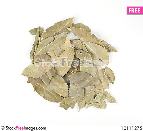 Free Dried Bay Leaves Royalty Free Stock Photo - 10111275