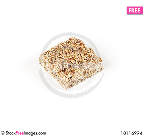 Free Sesame Bar With Honey Stock Images - 10116994