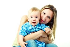 Free Happy Mother And Baby Stock Images - 10110754