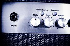 Free Amplifier Controls Stock Photos - 10111433