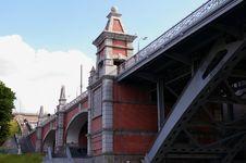 The Old Moscow Bridge Stock Photos