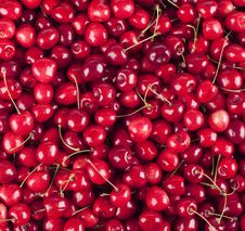 Free Cherries Background Stock Image - 10111981